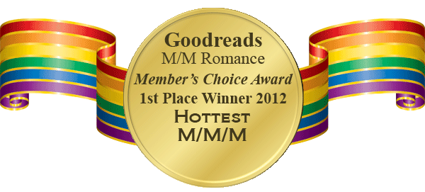 Hottest M/M/M Winner's badge