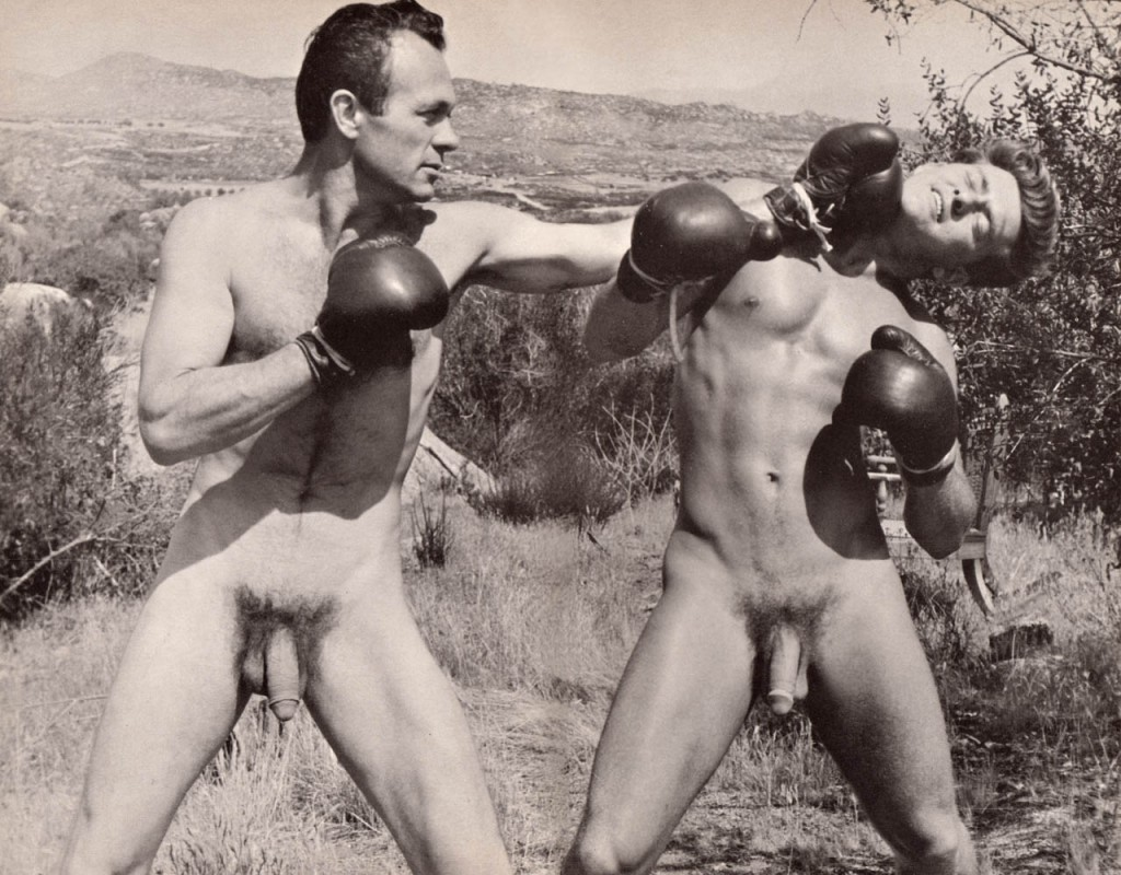 vintage naked boxing
